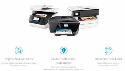 Las impresoras HP OfficeJet Pro te dan la máxima calidad y ahorro para que te centres en los aspectos importantes de tu pyme