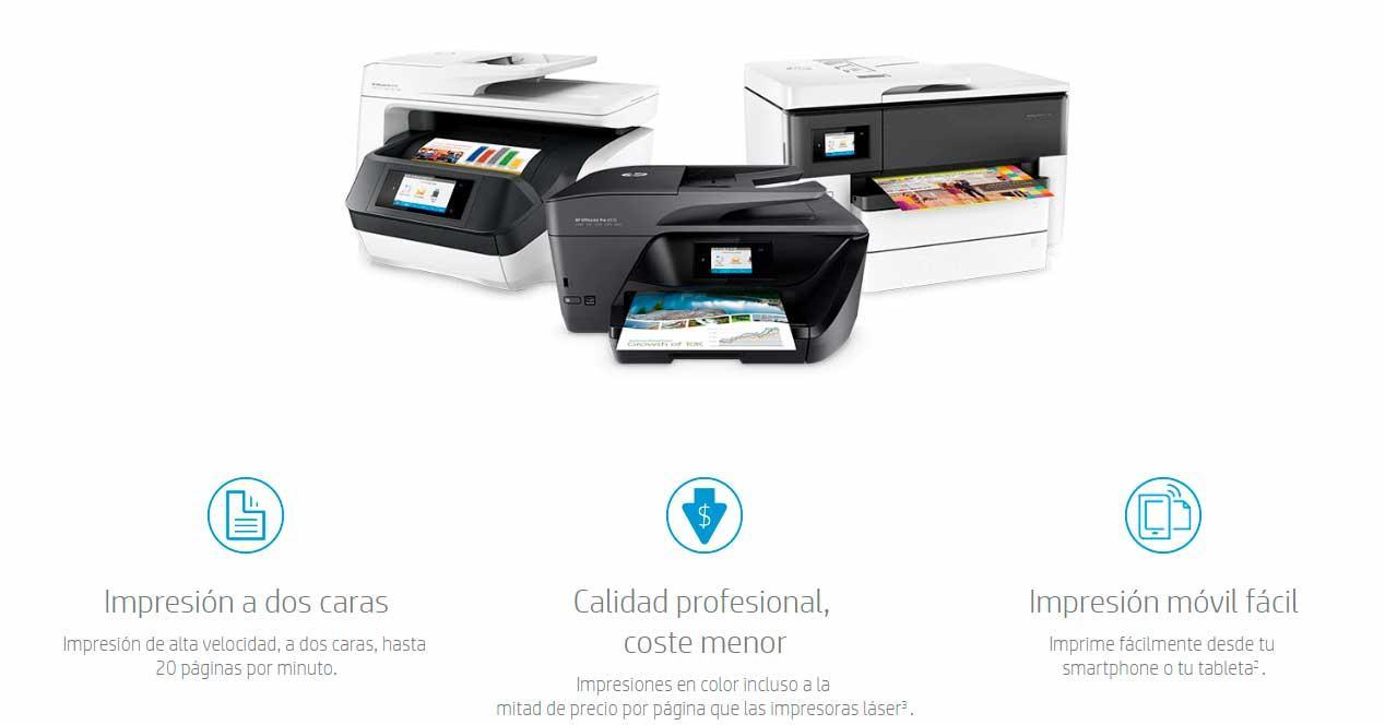 Las impresoras HP OfficeJet Pro te dan la máxima calidad y ahorro ...