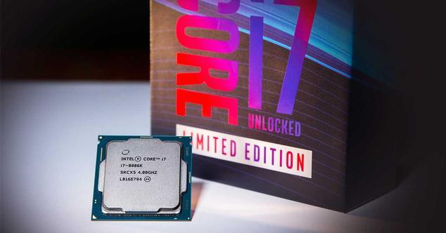 intel core i7-8086K caja