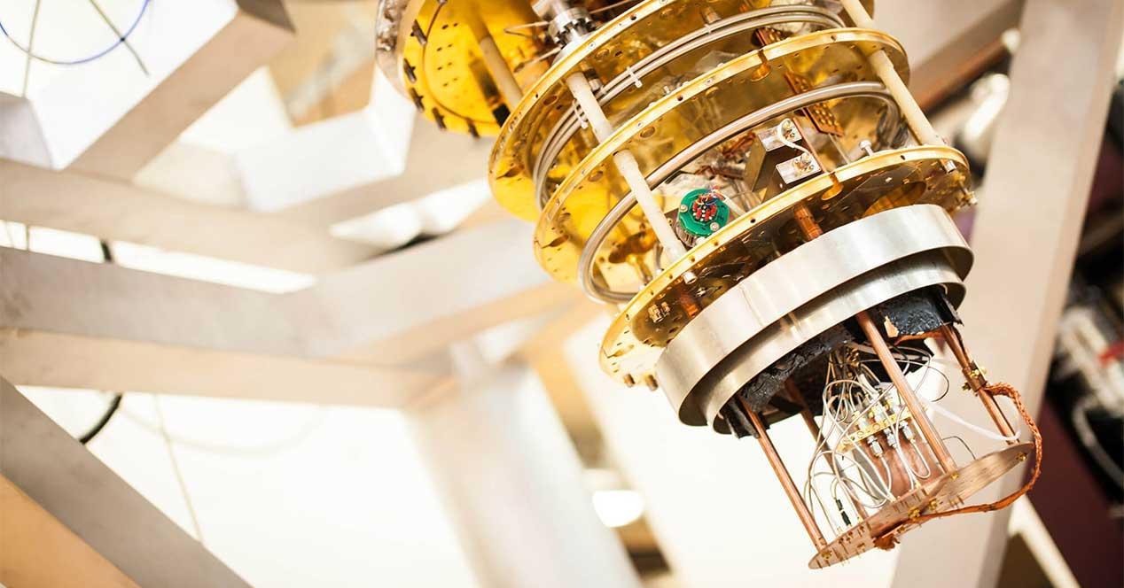 un ordenador cuántico