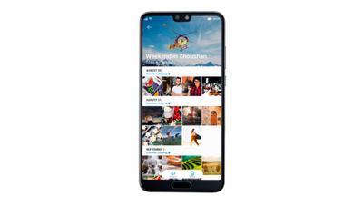 Huawei P20 y la organización inteligente de las fotos