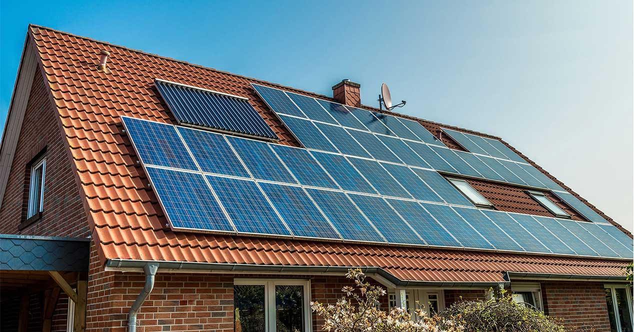 panel solar placa