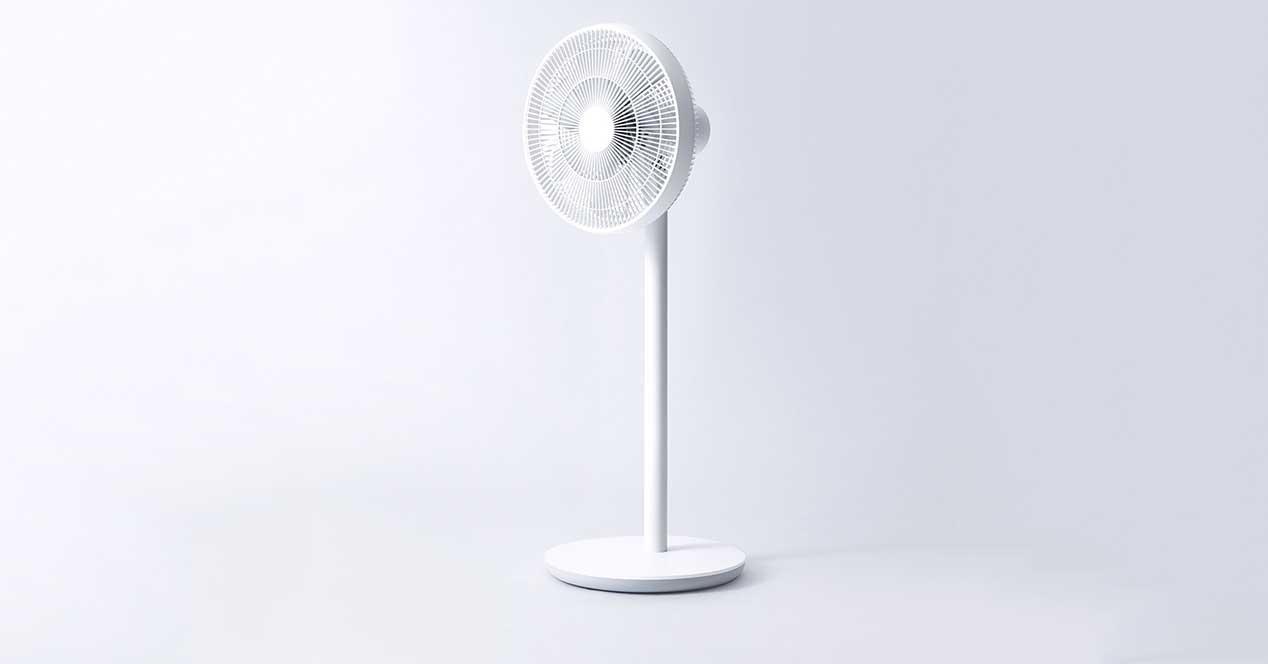 Xiaomi Ventilador Inteligente inalámbrico, Metal, Blanco