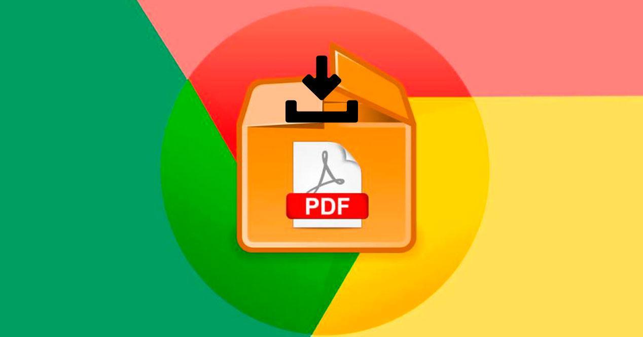 Cómo descargar PDF en Google Chrome en vez de abrir
