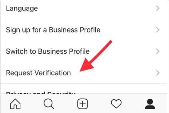 verificar tu cuenta de instagram
