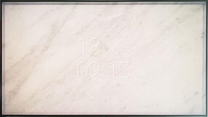 Samsung QLED 9F Modo Ambiente