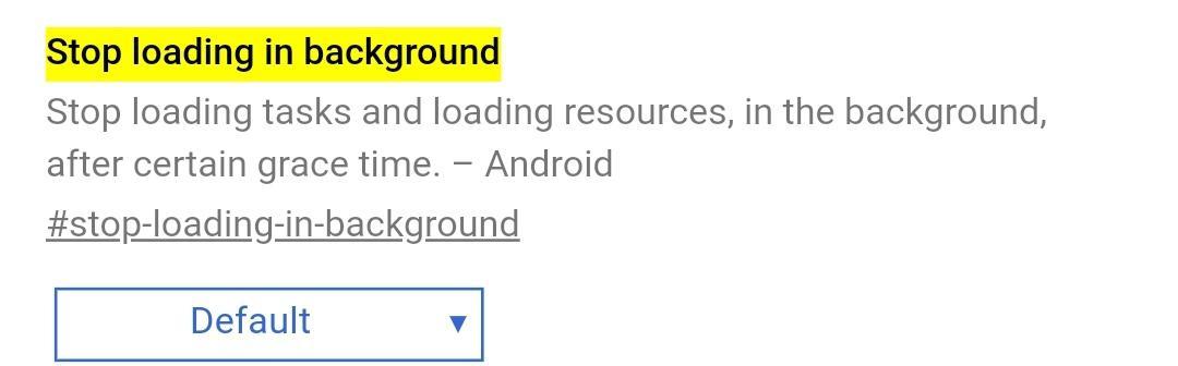 "Chrome para <stro />Android</strong>® parará pestañas en 2.º plano"" width=""1080″ height=""336″ /></p><div class="