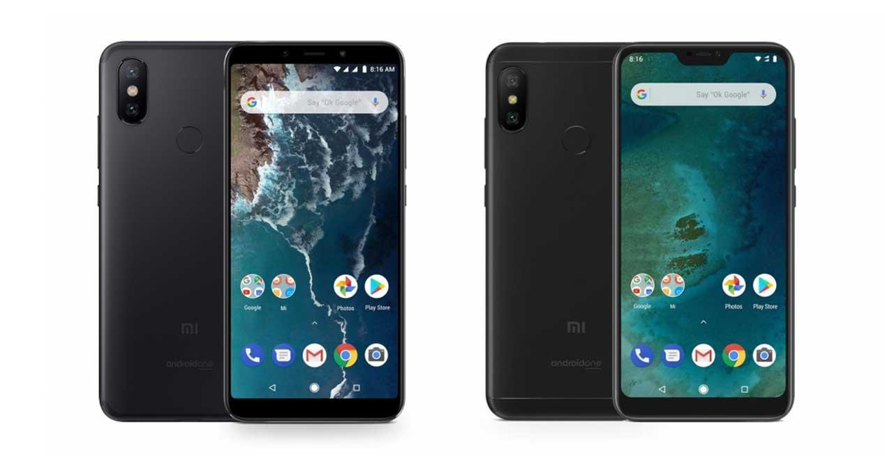 Xiaomi Mi A2 y Xiaomi Mi A2 Lite