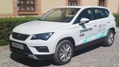 Telefónica y Seat presentan la primera demo de conducción asistida a través del 5G