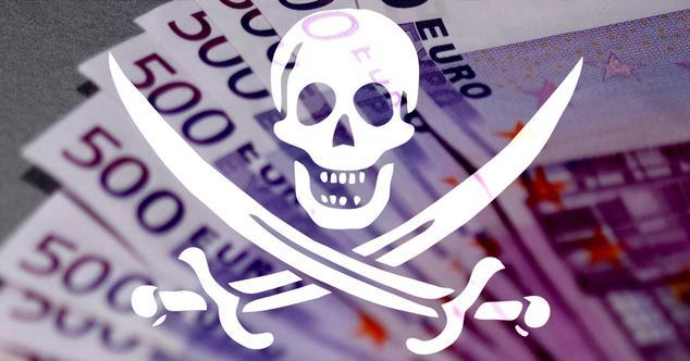 Dinero piratería