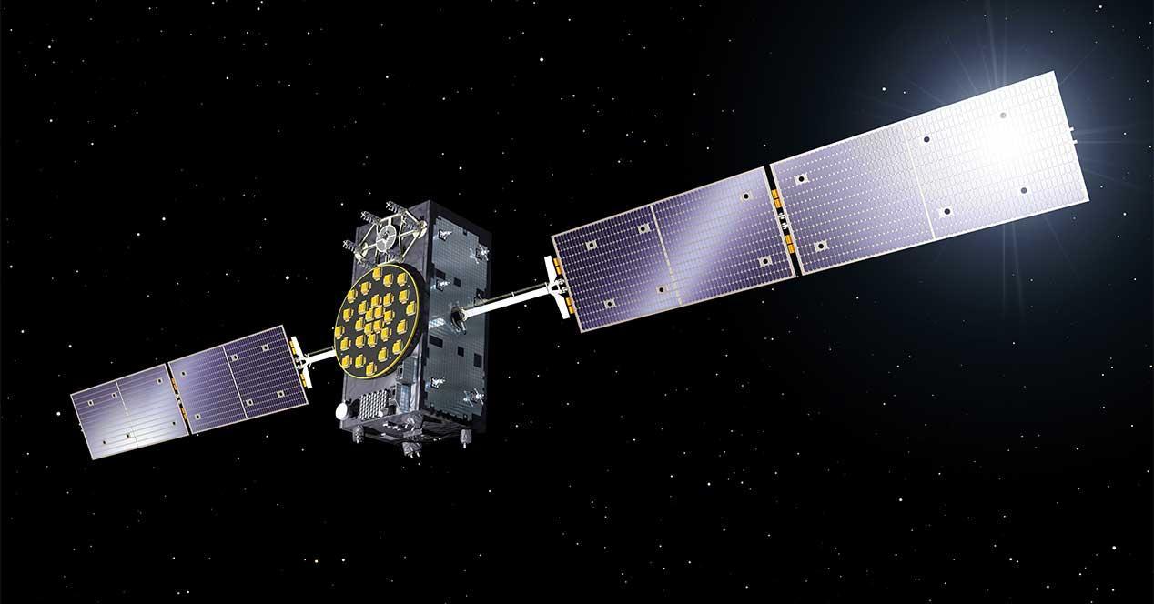 galileo satelite