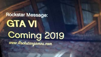 ¿Es real que GTA VI va a salir en 2019?