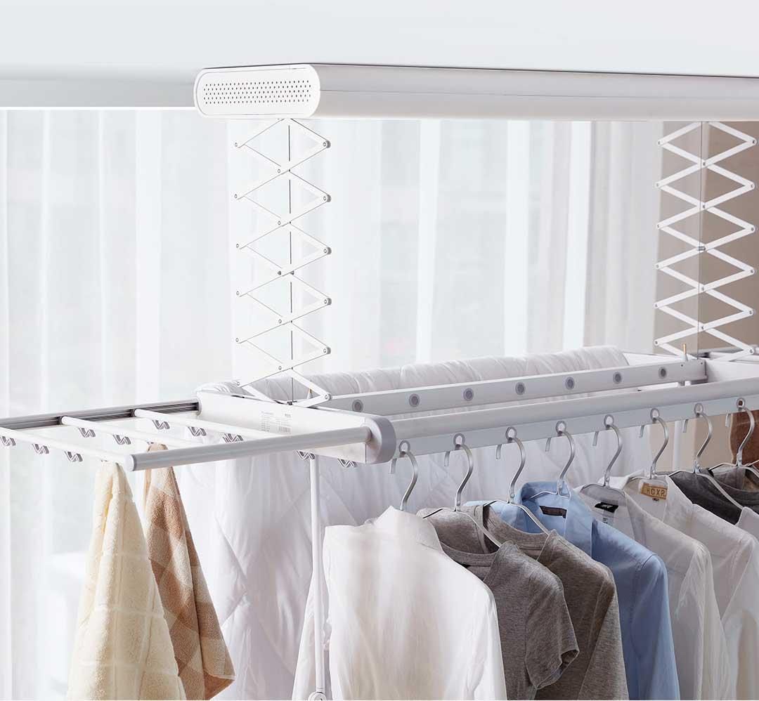 auténtico el precio más baratas valor fabuloso Xiaomi lanza una secadora de ropa que se cuelga del techo