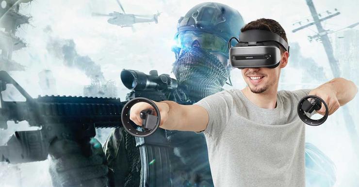 Ver noticia 'Realidad virtual con Lenovo: en tu PC o en cualquier parte con sus gafas VR'