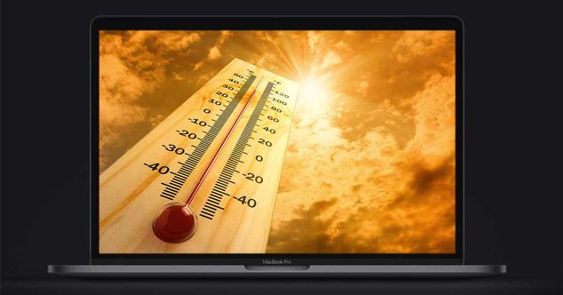 MacBook Pro 2018 Core I9 problema temperatura