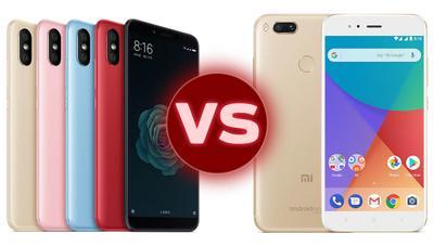 Xiaomi Mi A2 vs Xiaomi Mi A1 ¿qué ha cambiado?