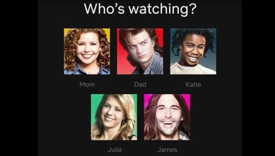 Netflix renueva los iconos de usuario con avatares de personajes de sus series