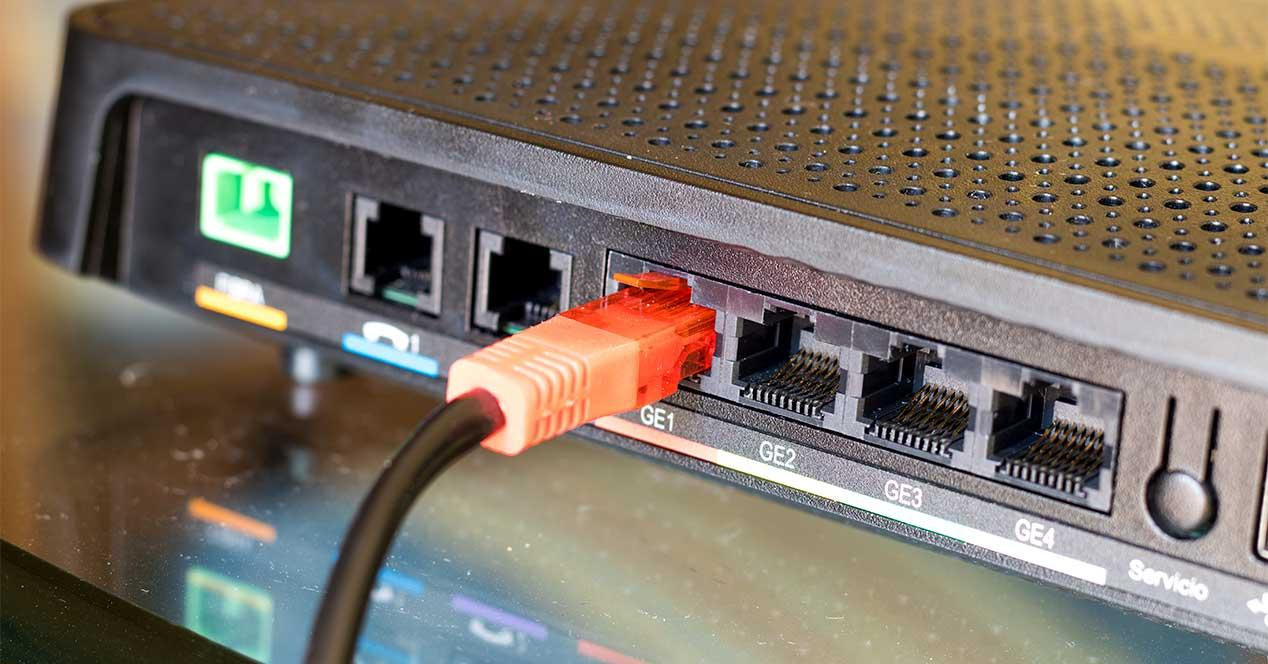 router fibra ethernet