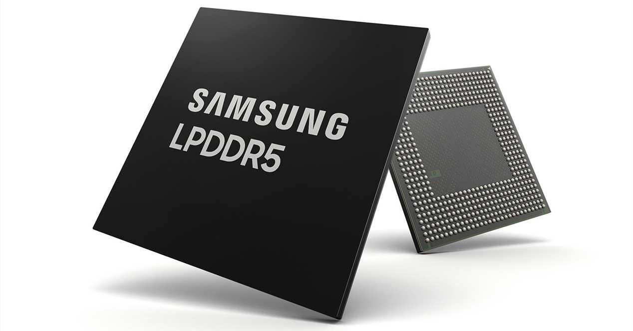 Memoria DRAM LPDDR5: las novedades que aporta Samsung