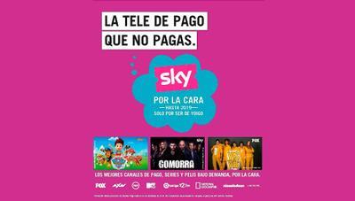 Yoigo regala la televisión de Sky a todos sus clientes y lanza deco Android 4K