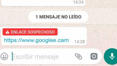 WhatsApp ya te avisa si te envían un enlace sospechoso: así funciona