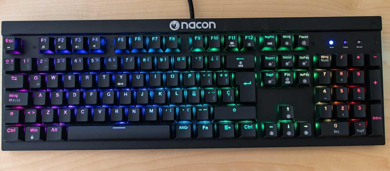 teclado rgb