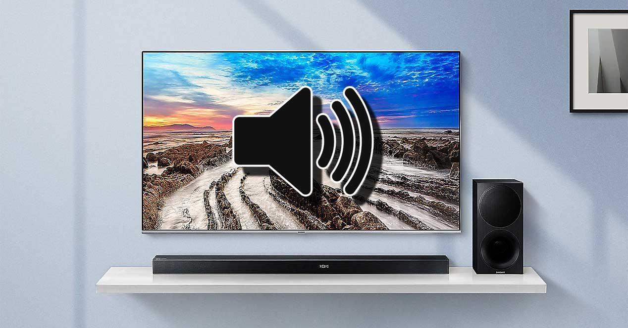 tv sonido volumen anuncios