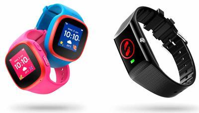Dos nuevos V by Vodafone en forma de reloj inteligente para niños y pulsera para mayores
