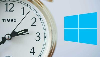 Windows 10 ahora va a medir la hora de manera más precisa