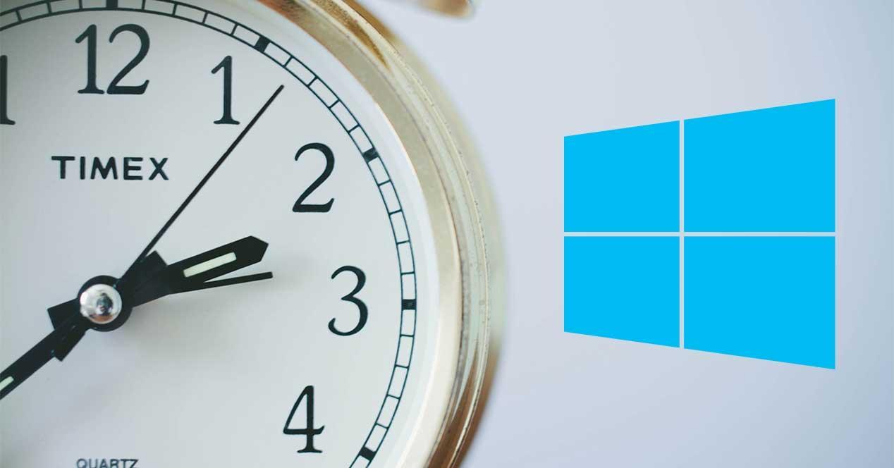 windows 10 hora