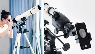 Xiaomi lanza un telescopio que permite hacer fotos con el móvil