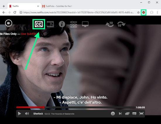 subtítulos personalizados en Netflix