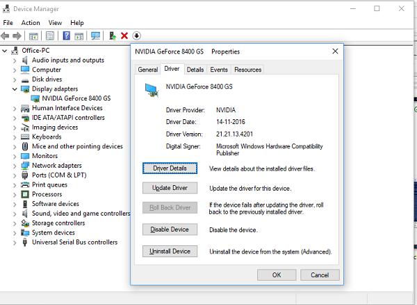 pantallazo azul cuando Windows se despierta
