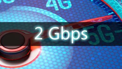 Los primeros móviles 5G alcanzarán 2 Gbps y harán el 4G 400 Mbps más rápido