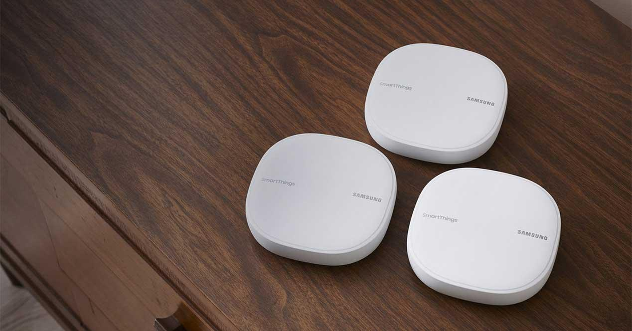 Samsung SmartThings router WiFi