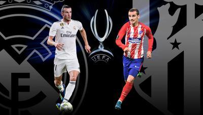 Cómo ver la Supercopa de Europa on-line y en directo entre Real Madrid y Atlético de Madrid