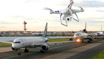 Drones autónomos para sacar a las aves de los aeropuertos