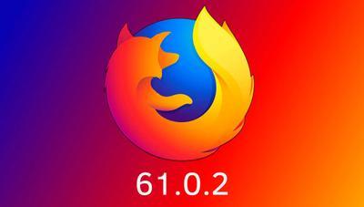 Firefox 61.0.2 ya disponible: cambios y novedades