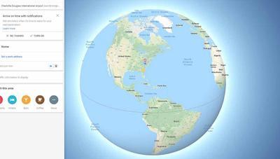 Para Google Maps, la Tierra ya no es plana
