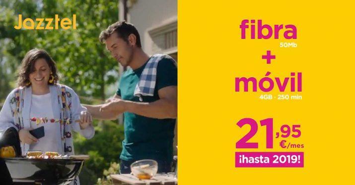 jazztel nueva oferta fibra agosto 2018