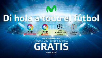 LaLiga 1|2|3 gratis en los paquetes de fútbol de Movistar+