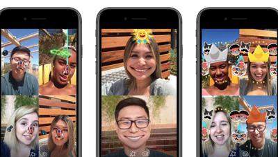 Messenger estrena realidad aumentada en varios juegos para videollamadas
