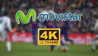 El 4K llega a Movistar el mes que viene: el fútbol será el primer agraciado