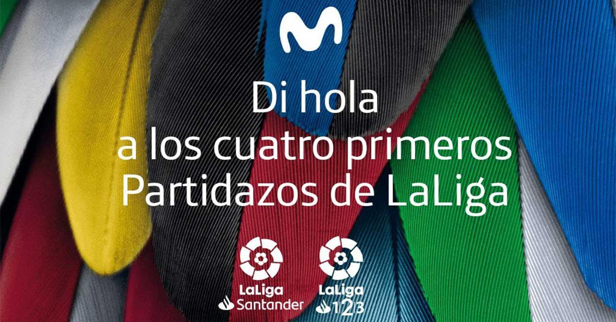 Ver noticia 'Noticia 'Movistar regala los Partidazos de las dos primeras jornadas de fútbol de LaLiga a todos los clientes''