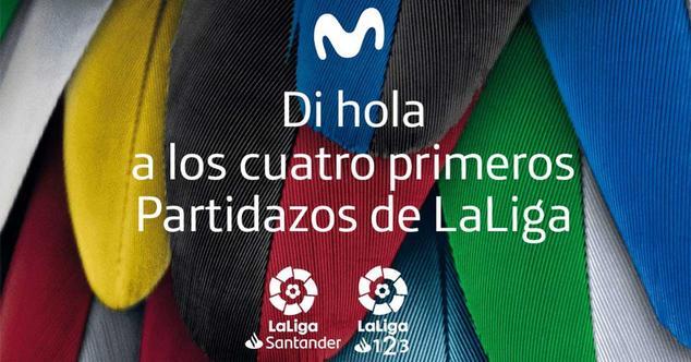Ver noticia 'Movistar regala los Partidazos de las dos primeras jornadas de fútbol de LaLiga a todos los clientes'