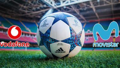 Vodafone denuncia a Movistar ante la CNMC por sus ofertas de fútbol