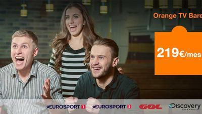 Orange TV Bares: nueva oferta con todo el fútbol por 219 euros al mes