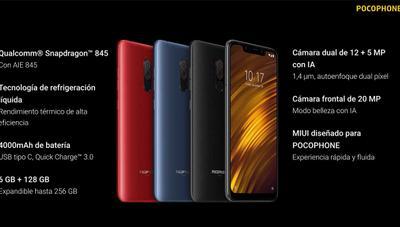 Pocophone F1: precio y fecha de lanzamiento en España del móvil de Xiaomi
