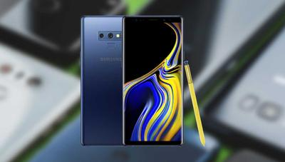 Comparativa: Samsung Galaxy Note 9 vs Mi 8, OnePlus 6, G7, S9, P20 Pro, XZ2 y iPhone X