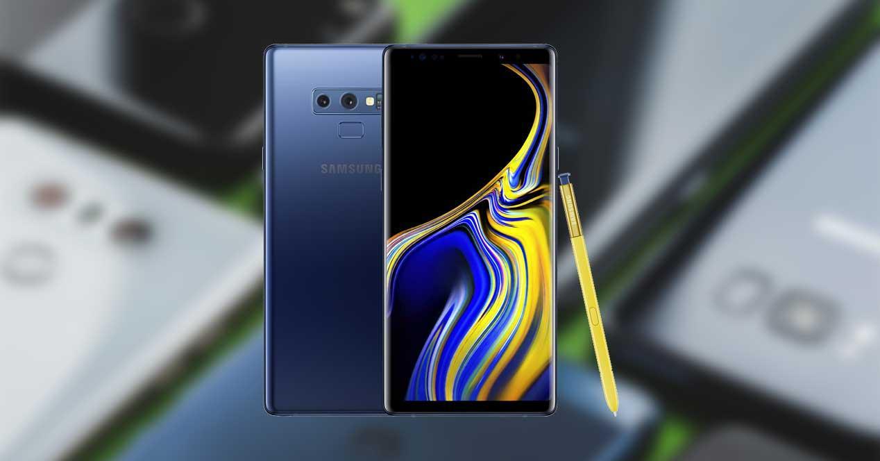 e4f1f252d5e Comparativa  Samsung Galaxy Note 9 vs Mi 8